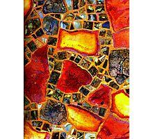 Paper Mosaic 205 Photographic Print