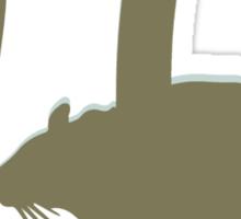 Pirate - anagram  pi rat  Sticker