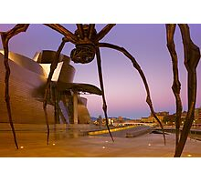 Maman the Giant Spider - Bilbao, Spain Photographic Print