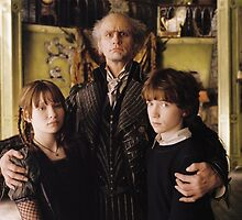 A Series of Unfortunate Events Trio by quiethere