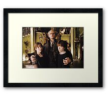 A Series of Unfortunate Events Trio Framed Print