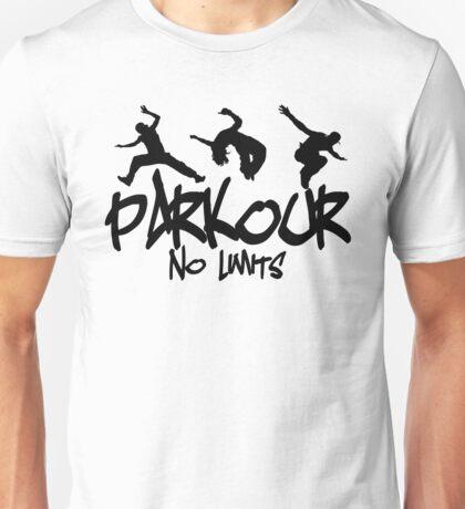 Parkour - No Limits Unisex T-Shirt