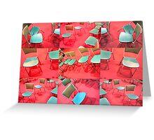 chairs Greeting Card