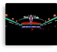 Flo's V8 Cafe Canvas Print