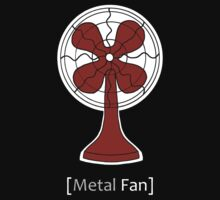 Metal Fan T-Shirt by WaywardMuse