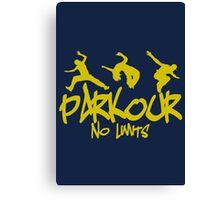 Parkour - No Limits Canvas Print