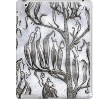 Etching : Flax Pods Gothic iPad Case/Skin
