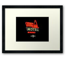 Cozy Cone Motel Framed Print