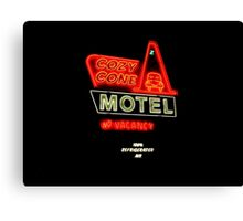 Cozy Cone Motel Canvas Print