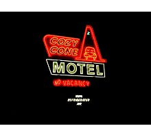 Cozy Cone Motel Photographic Print