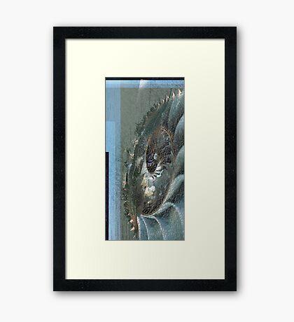 Beach Collage Framed Print