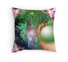 Healing Planet: Rainbow Warriors Mandala 4  Throw Pillow