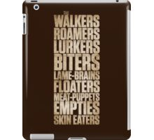 The Walking... iPad Case/Skin
