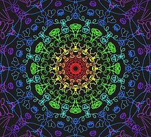 Chakra Mandala by tabikkat22