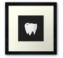 Molar Bear Framed Print