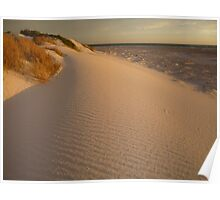 Lancelin Sands at Dusk Poster
