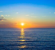 Sunrise at Bronte Beach by Mark Richards