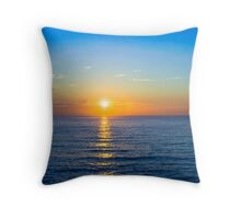 Sunrise at Bronte Beach Throw Pillow