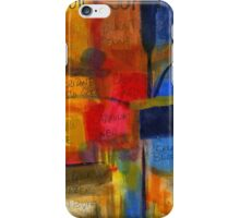 The JOY of Planning an Abstract Painting at Starbucks iPhone Case/Skin