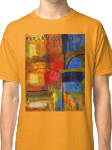 The JOY of Planning an Abstract Painting at Starbucks Classic T-Shirt