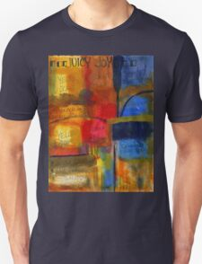 The JOY of Planning an Abstract Painting at Starbucks Unisex T-Shirt