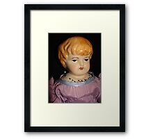 Strawberry Blonde Doll Framed Print