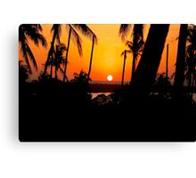 """SUNSET VIEW AT THE """"CROSSROADS"""" Canvas Print"""