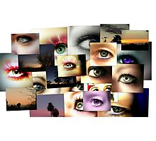 Eye Collage Photographic Print