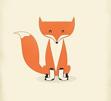 A Fox With Socks by zachterrell