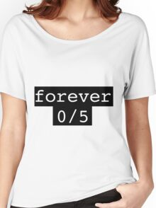 Forever 0/5 1D One Direction Women's Relaxed Fit T-Shirt