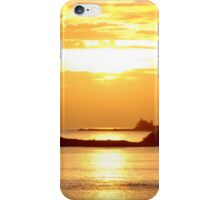 Sunset over Osprey Cay iPhone Case/Skin
