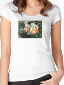 Twin Daffodils ~ Women's Fitted Scoop T-Shirt