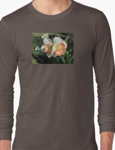 Twin Daffodils ~ Long Sleeve T-Shirt