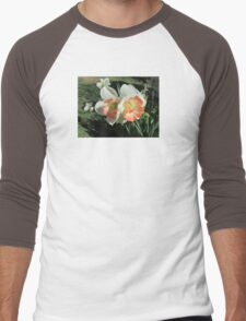 Twin Daffodils ~ Men's Baseball ¾ T-Shirt