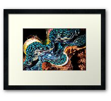 Giant Clam Framed Print