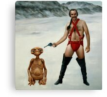 Zardoz is pleased Canvas Print