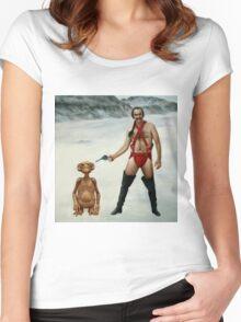 Zardoz is pleased Women's Fitted Scoop T-Shirt