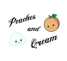 Peaches and Cream by Rhiannabear