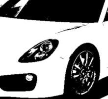 Porsche Cayman 2014 Sticker