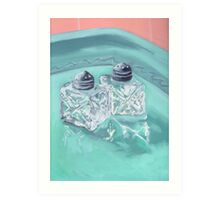 Vintage Salt and Pepper Art Print