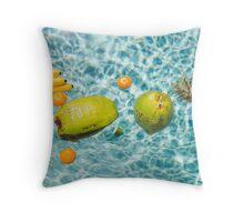 pineapple crush series Throw Pillow