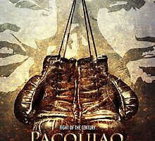 Pacquiao vs Maywether by superslinkie
