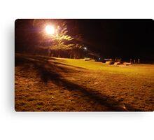 Harrington Skate Park after dark Canvas Print