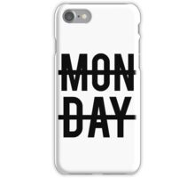 Niall Horan Monday Design iPhone Case/Skin