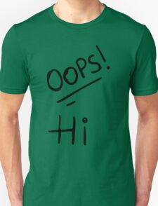 Oops! Hi - Larry Stylinson Tattoos T-Shirt