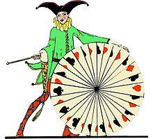 The Joker of The Wheel Photographic Print