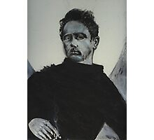THE REBEL IN BLACK Photographic Print
