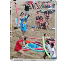 Noodle War at Surf 6 iPad Case/Skin
