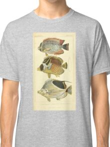 The Animal Kingdom by Georges Cuvier, PA Latreille, and Henry McMurtrie 1834  108 - Pisces Fish Classic T-Shirt