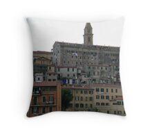 Italian architecture Throw Pillow